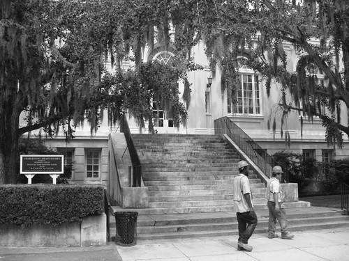 Charleston scene...