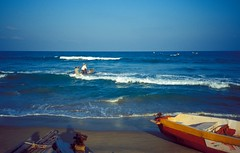 Mallapuram (sabamonin) Tags: world sea india heritage boat site district south fisher tamil mahabalipuram nadu mamallapuram kancheepuram
