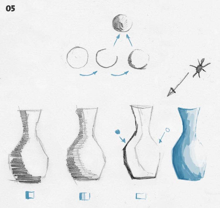 strichführung - zeichnen - 05