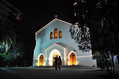 Santa María de los Angeles (ellamiranda) Tags: santiago church noche iglesia elgolf