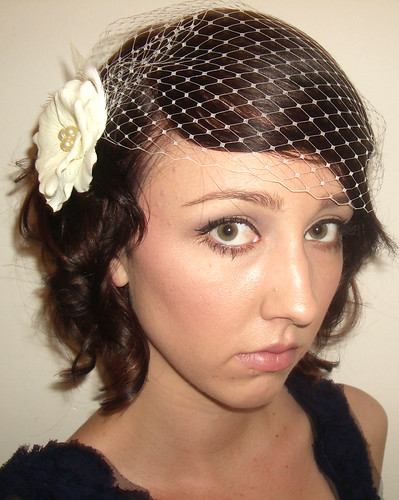 Birdcage_Veil_beautiful, originally uploaded by Birdcage Veils and Wedding