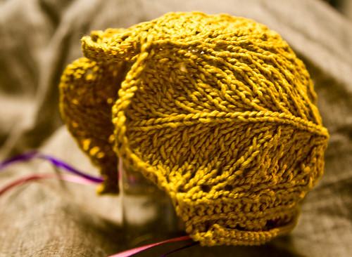 Victorian Baby Bonnet