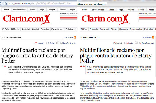 Clarin.com y Chrome (2)