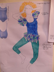 Ariel (HollyMHodgart) Tags: design costume drawings thetempest rsamd