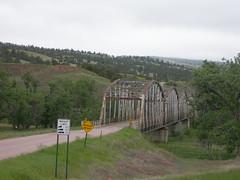 Old Cheyenne River Bridge