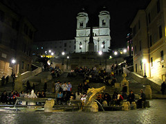 An Evening at the Spagna