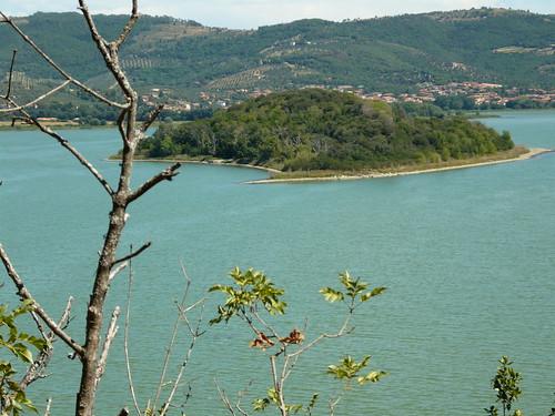 Isola Minore sul Lago Trasimeno