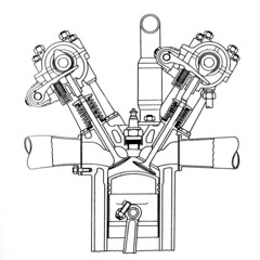 Ducati Desmo Engine Diagram
