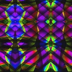 Sunset in the City (Visual Artist Frank Bonilla) Tags: california city sunset abstract art lines diamonds oakland mirror blind abstractart diamond fresno blinds abstracts lin sunsetinthecity frankbonilla abstractstv wwwabstractstv abstarctstv