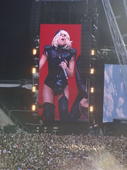 Lady Gaga on the big, big screen