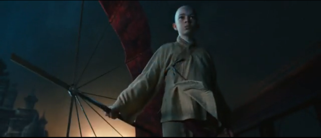The Last Airbender 2010 movie Aang