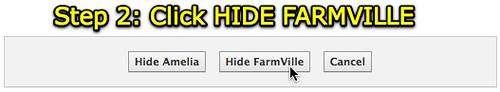 Facebook - Hide Farmville