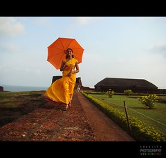 :) (sreeji..) Tags: orange green yellow evening fort kerala mridula kasaragod sreejith bekal chinu sreeji kanhangad