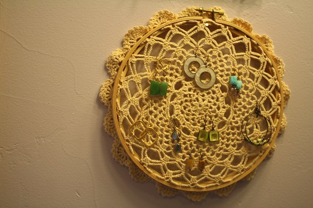 Earring Holder Wall Art
