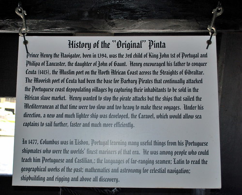 History of the Original Pinta