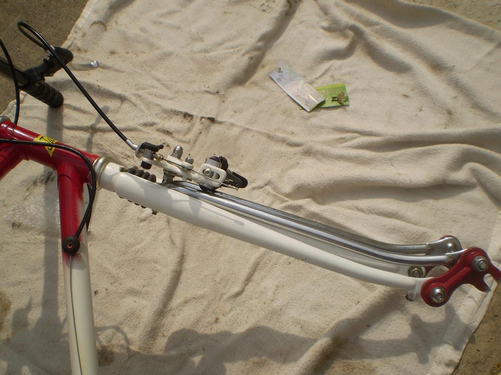 Janin early full suspension road bike