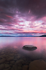 (Shakira 71) Tags: california sunset wild sky nature water clouds canon rocks dusk laketahoe boulder wilderness 2010 1635mm 5dmrk2 jaredropelato ropelatophotography flickrandroidapp:filter=none