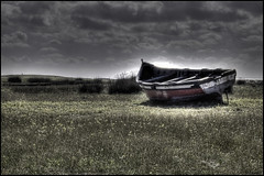 Grounded (stubeee) Tags: boat spain meadow hdr conil nikond40 paololivornosfriends stubeee