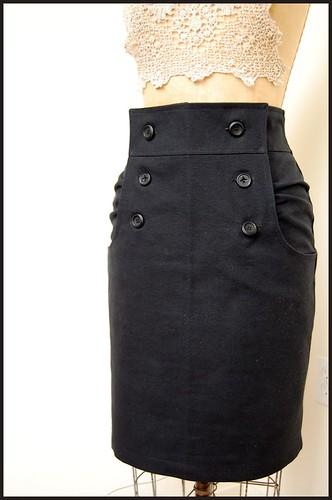 burdastyle's kasia skirt