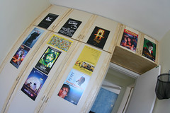 My Room again (felipepires) Tags: fiction cinema sunshine dark movie poster amelie mind knight pulp miss godfather spotless serpico poulain walle