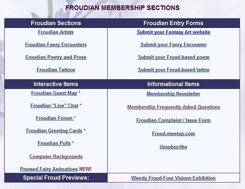 Froudian Membership Sections