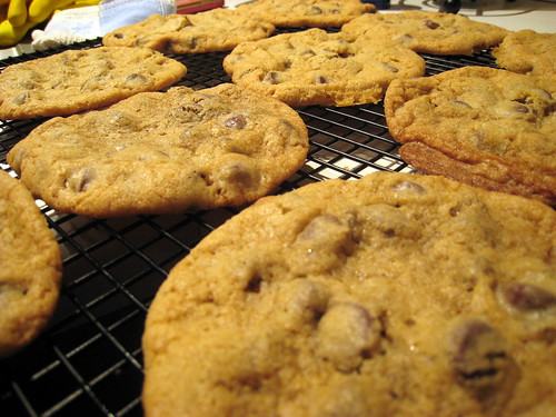 Thin Chocolate Chip Cookies.