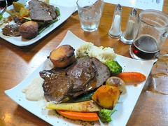 At the Gables - a pub lunch (Sandy Austin) Tags: newzealand auckland northisland hernebay thegables publunch panasoniclumixdmcfz5 sandyaustin