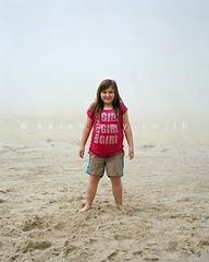 Molly (Sarah Amy Smith (www.sarahamysmith.com)) Tags: uk portrait england mist beach girl kid sand cornwall documentary landsend portraiture editorial socialdocumentary reportage sennan sennancove oflandandsea sarahamysmith wwwsarahamysmithcom