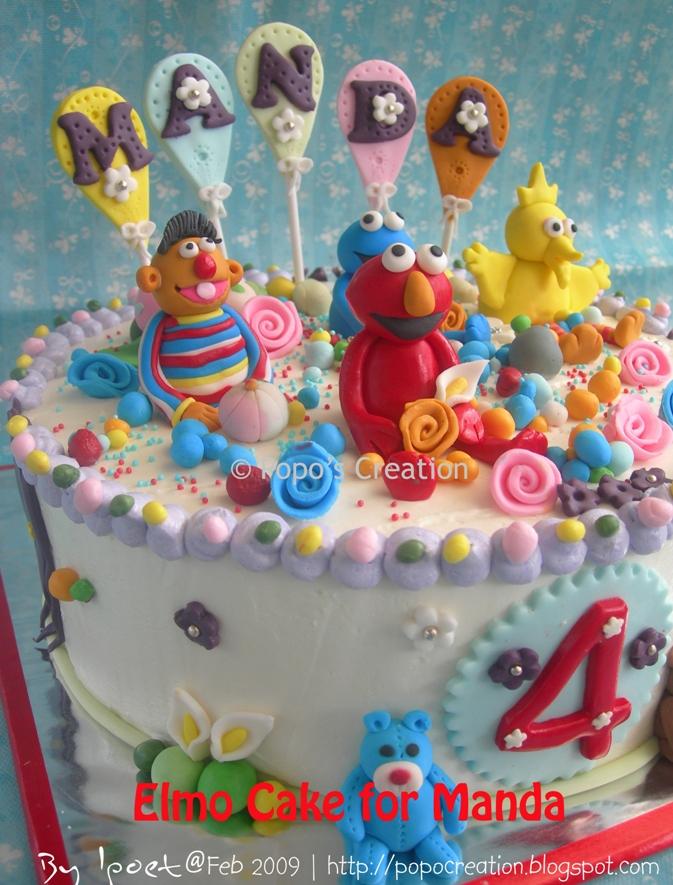 Elmo Cake for Manda