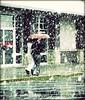 Let it Snow! (Ekler) Tags: road street door atlanta winter ladies woman usa snow storm building brick window wet weather shop umbrella ga vintage shopping georgia season walking us holding women cross pavement walk candid side center snowing unusual february process flakes vignette unexpected evolt ekler unexpecting olympuse410 soloha throughthewindshieldd oldshollddigital itookitwhiledriving