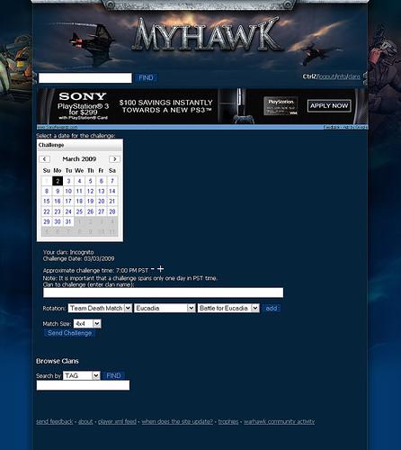 MyHawk.org Challenge