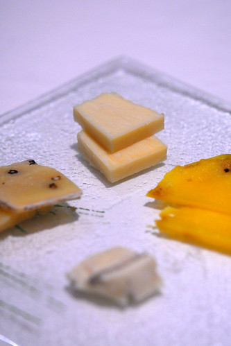 Chef's selection of cheese - DSC_8457