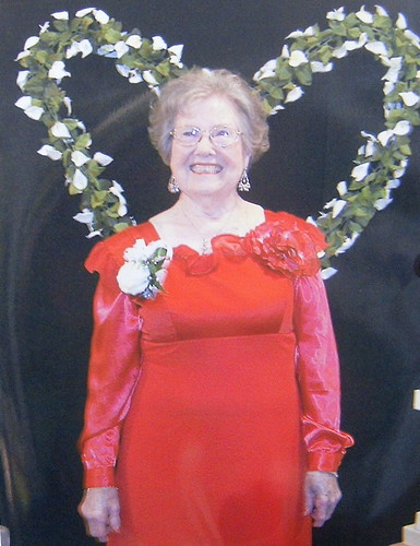 Grandma's Prom - Red Dress