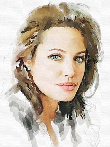angelina jolie face profile. #159 Angelina Jolie