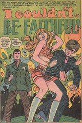 I Couldn't Be Faithful! (terr-bo) Tags: music 1969 girl comic dancing romance comicbook swinging gogo psychedelic groovy deceive the60s thesixties unfaithful girlsromances the1960s gogodancing ricestrada pulpromance vincecolletta girlsromances144 georgekashdan