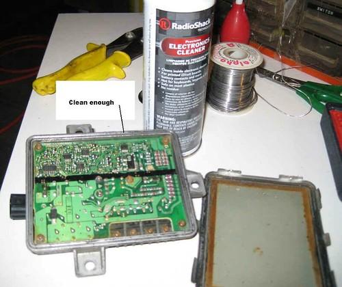 Fixing a wet Inverter/Ballast - AcuraZine - Acura Enthusiast