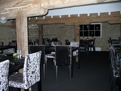The top restaurant at Oundle Mill