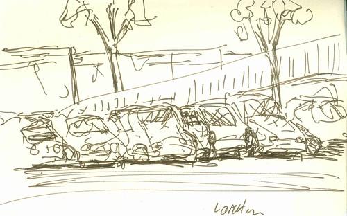 cars Laverton Railway Station