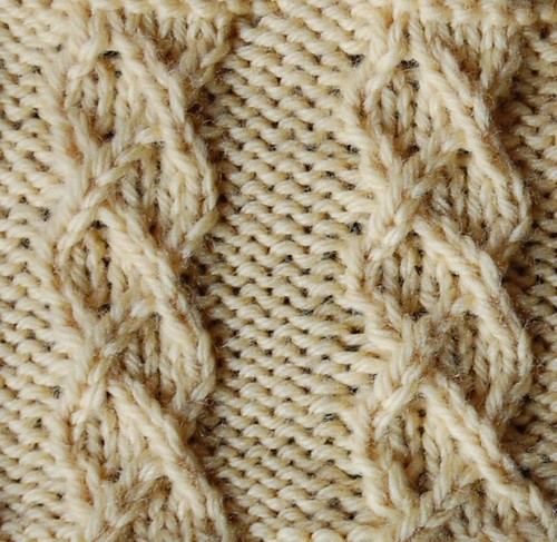 A Second Treasury Of Knitting Patterns : 07. Twist-Stitch Patterns (2nd) The Walker Treasury Project