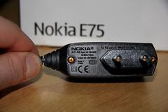 Nokia E75 charger