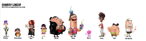 Fanboy and Chum Chum Revised Line-Up