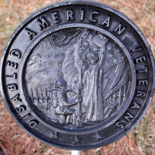 Disabled American Veterans plaque