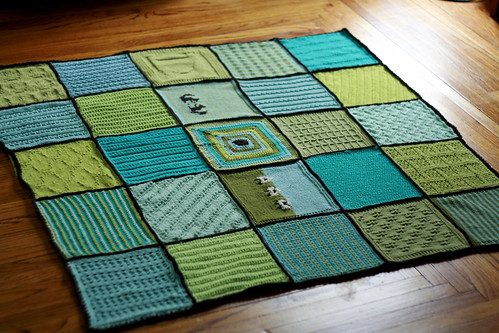 KBC Knitted Blanket