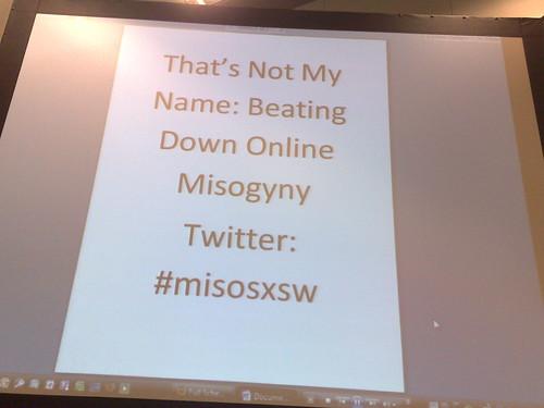 Combating online misogyny #MisogynyAlert