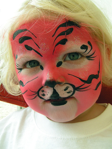 Free Printable Crafts - Face Painting Picture