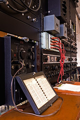 Bletchley Park - Teleprinter Intercept Station (stevebell) Tags: museum buckinghamshire bucks bletchleypark bletchley londonflickrmeetup nationalmuseumofcomputing bc221 stevebell tnmoc bletchleyparktrust wwiicodebreakers upcoming:event=1835020 teleprinterinterceptstation ar88d rcaar88dcommunicationsreceiver