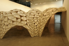 IMG_0820ms (cs@sf) Tags: wood losangeles installation vault sciarc veneer porosity iwamotoscott paperwood voussoircloud