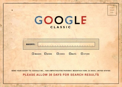 Google Classic: Please Allow 30 Days for by dullhunk, on Flickr