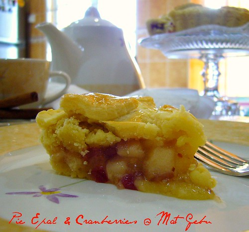Pie Epal & Cranberries