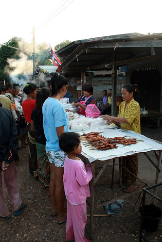Buying Grilled Chicken
